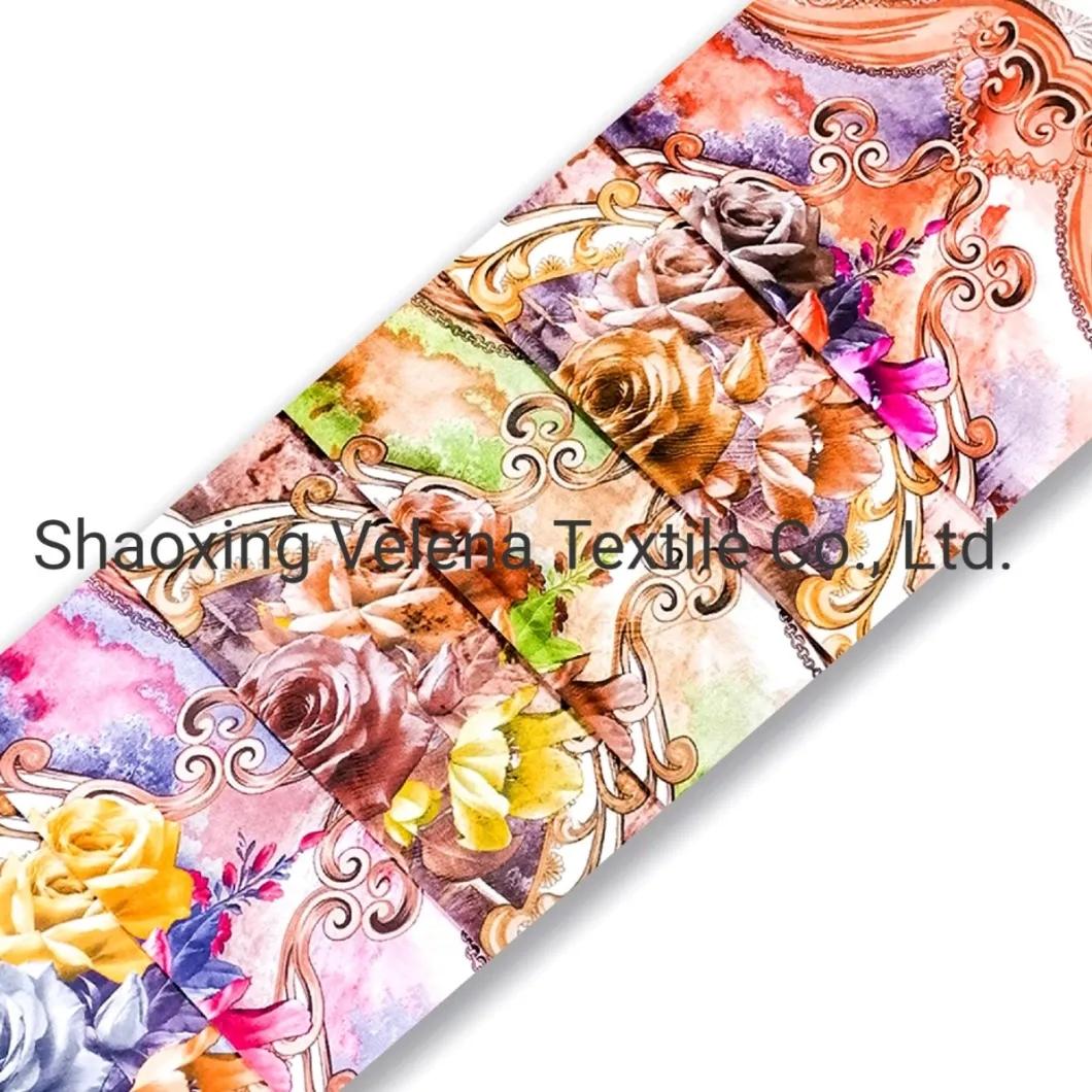 High-Grade Polyester Velvet with Print Textile Upholstert Furniture Fabric for Bedding