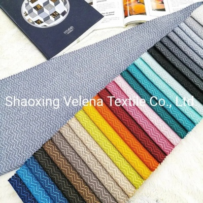 Polyester Linen Type Home Textile Furniture Fabric for Sofa Curtain