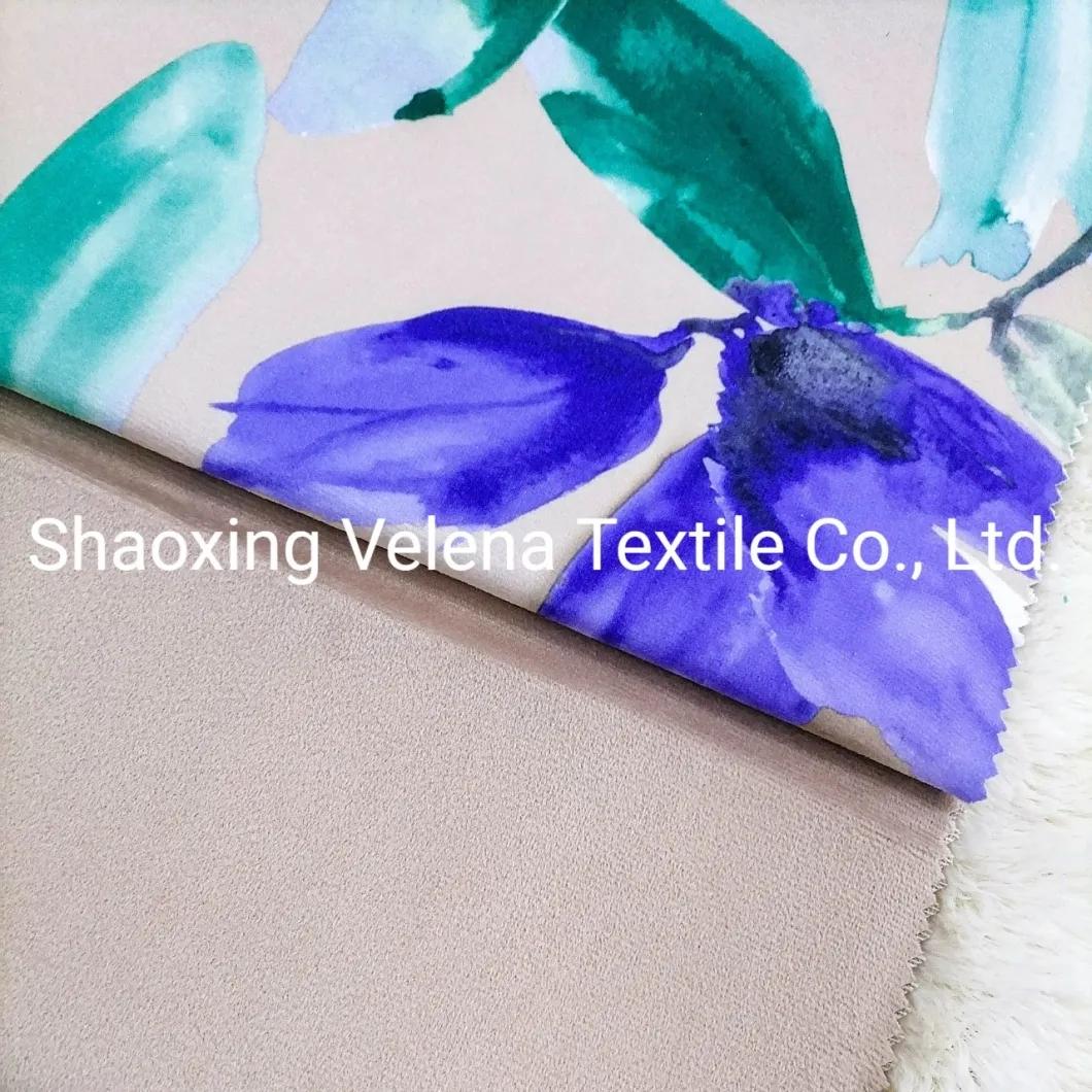 Fashion Design Printed Holland Velvet Home Textile Fabric Upholstery Sofa Fabric