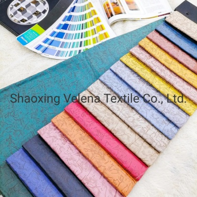 New Product Technology 100% Polyester Leather Effect Sofa Upholstery Home Textile Furniture Fabric