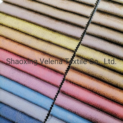 Hot Sale Cotton Velvet Dyeing with Glue Emboss Technology Waterproof Sofa Furniture Fabric