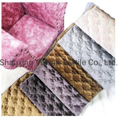 Holland Velvet Sewing Embroidery Home Textile Upholstery Fabric for Sofa