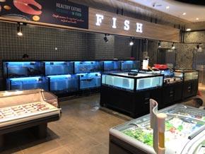 商超专用可移动海鲜水产暂养鱼池 一手厂家