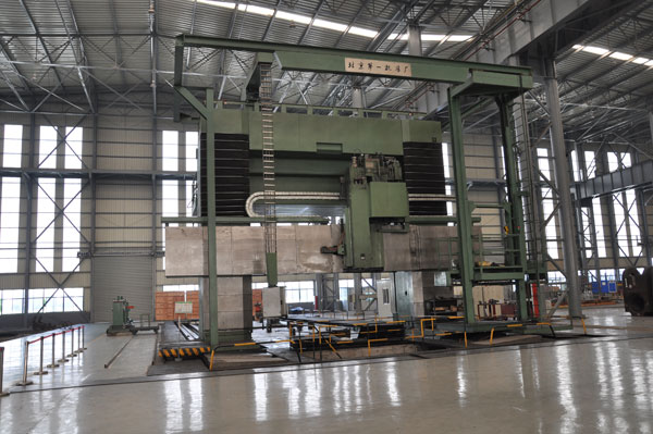 北京第一机床厂5*28米数控龙门铣