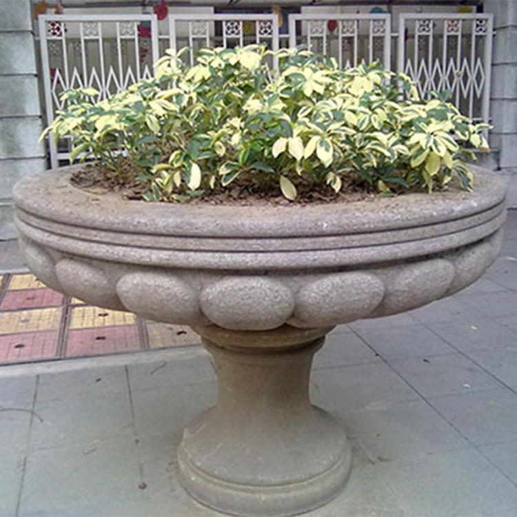 天津grc花盆