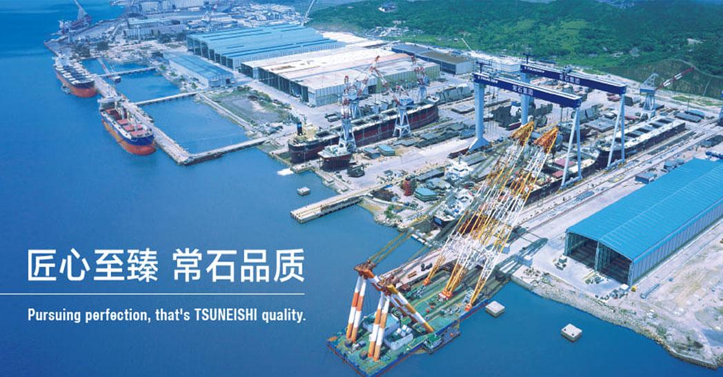 常石集团(日本)150t×44m 双小车船用门吊1台