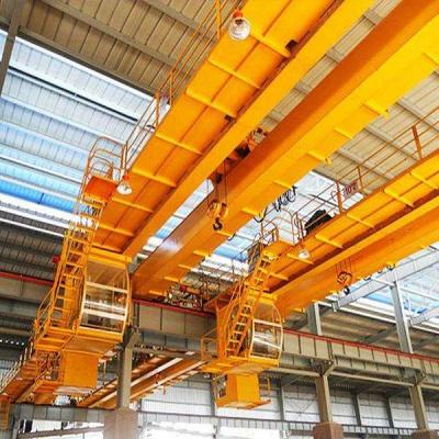 5-10 tons of electric hook double beam bridge crane