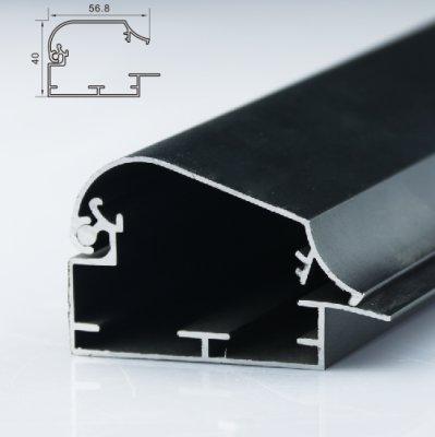 60mm单面灯箱型材