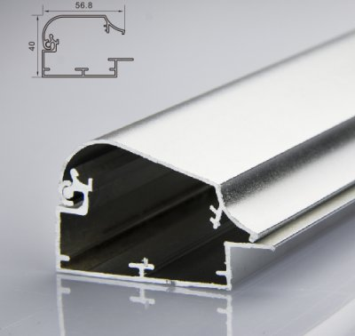 60mm开启灯箱型材