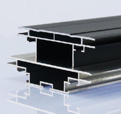 90mm雙面卡布燈箱型材