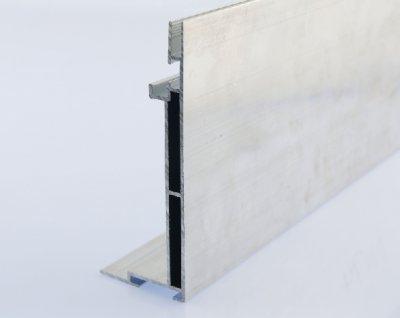 110mm卡布灯箱型材