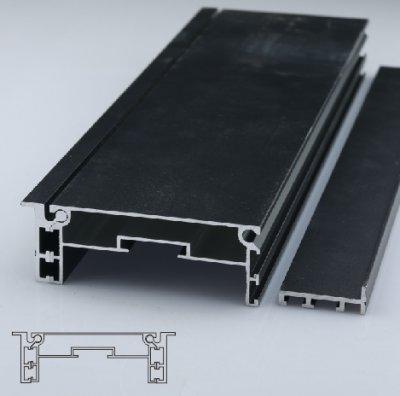 100mm地鐵燈箱型材