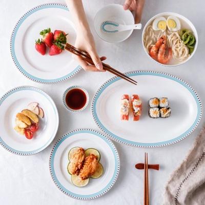 珠边系列餐具