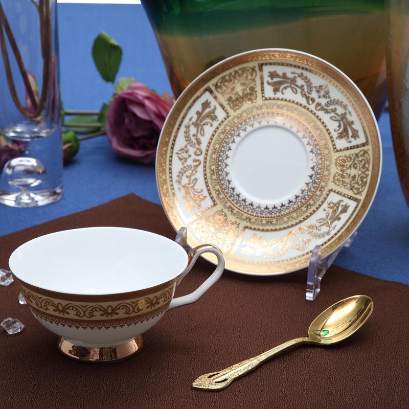 浮雕金黄-台面餐具