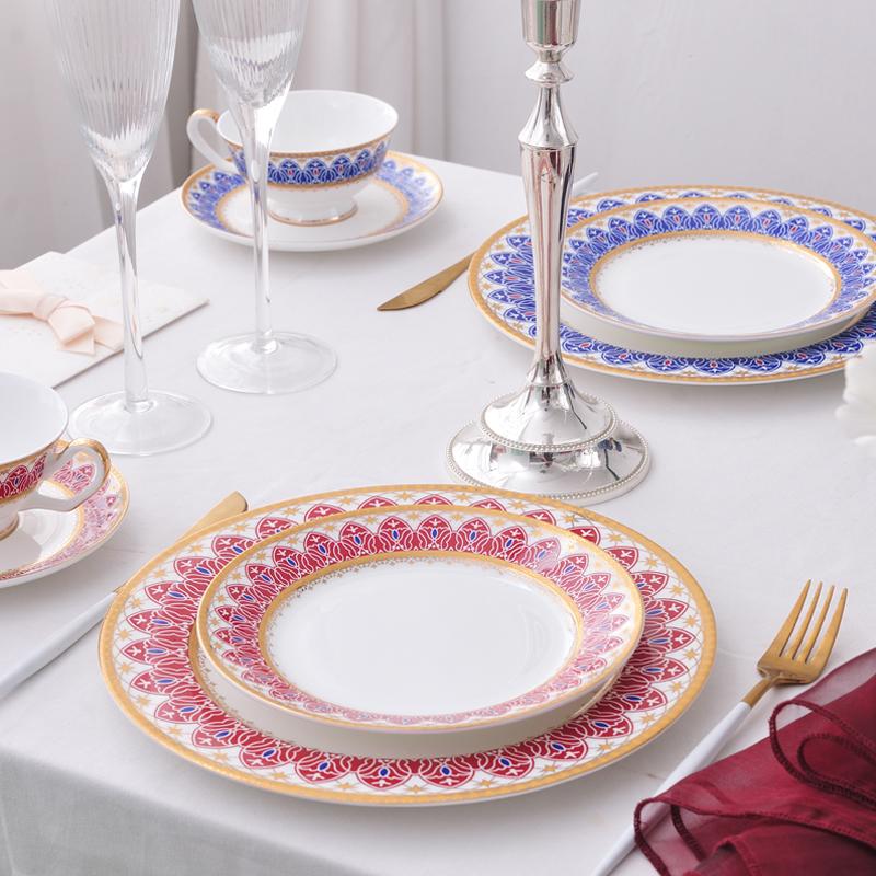 千百度三色-台面餐具