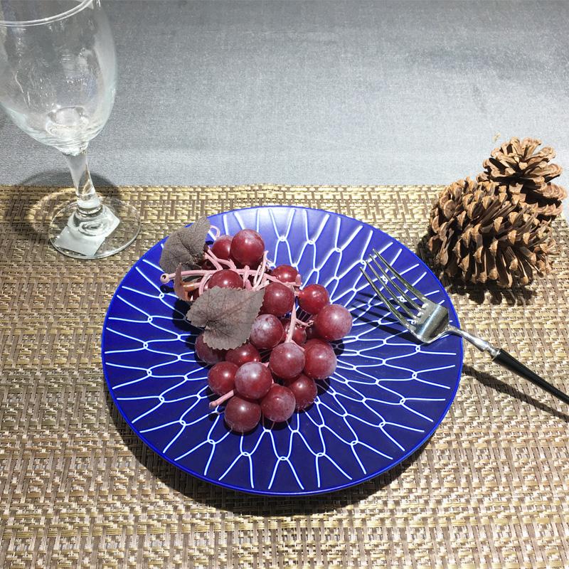 哑光宝蓝-台面餐具