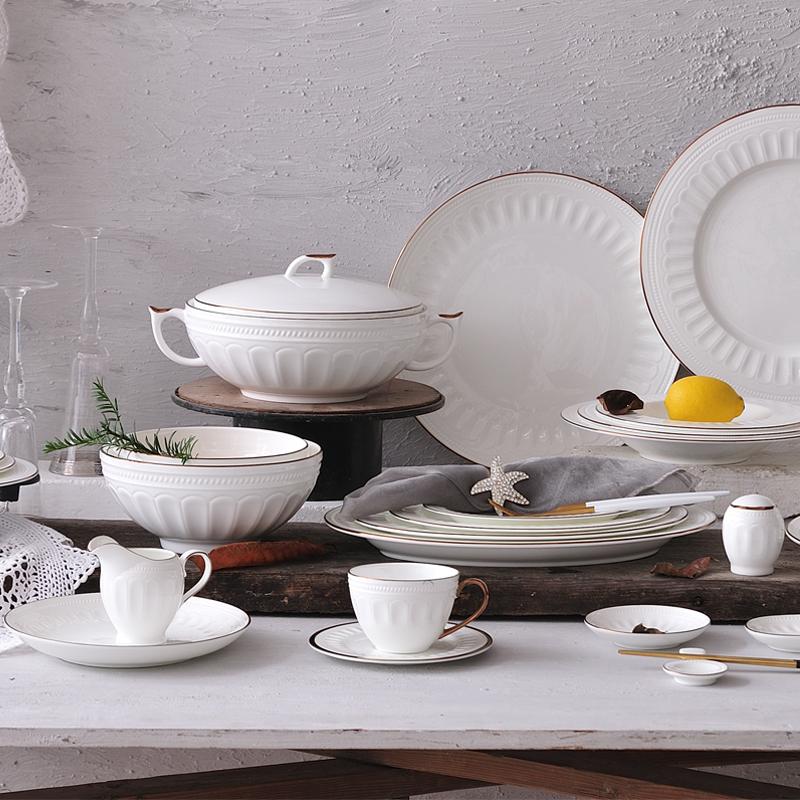 罗马玫瑰金系列  台面餐具