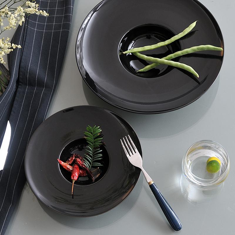 飞碟亮黑系列 台面餐具
