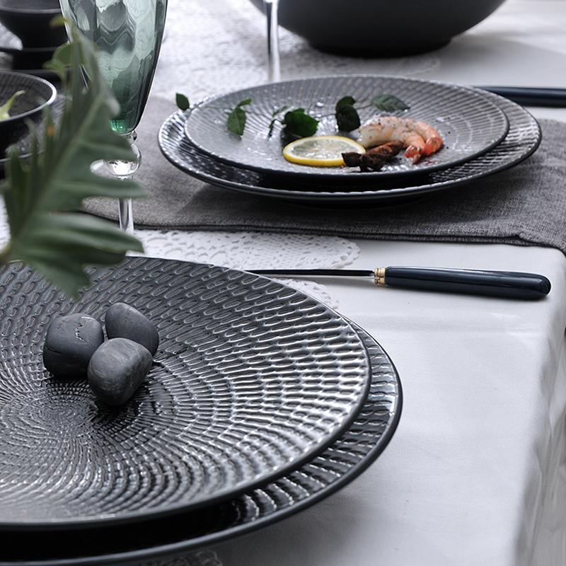 卢森流星黑系列 台面餐具