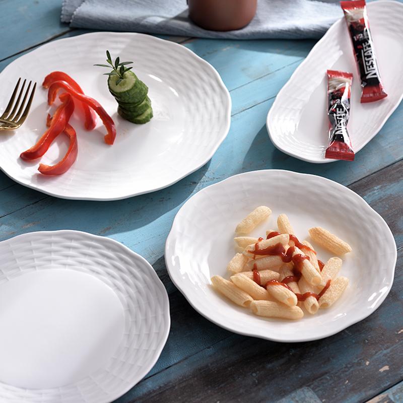 竹编纹系列 台面餐具