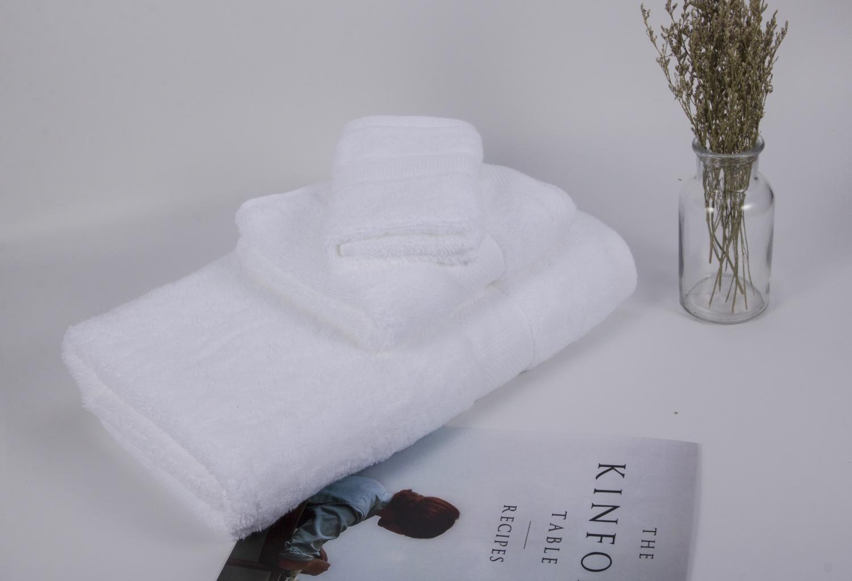 特价现货五星级酒店毛巾白色、手巾面巾浴巾