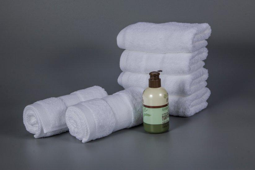 特价现货五星级酒店毛巾白色面巾6件套