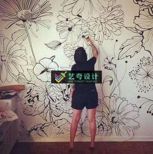 武汉墙绘的应用领域