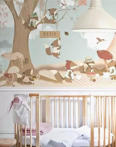手绘墙的常见风格