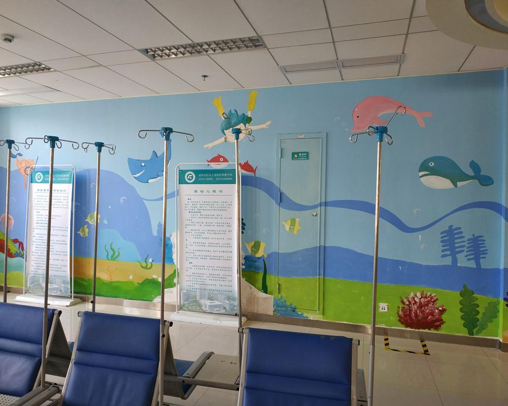 医院彩绘是改善就医环境的重要手段