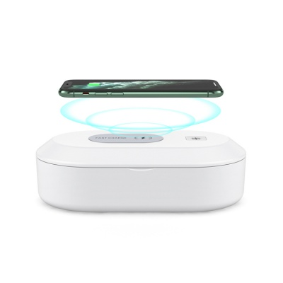 C-PK612 wireless charger with sanitizer