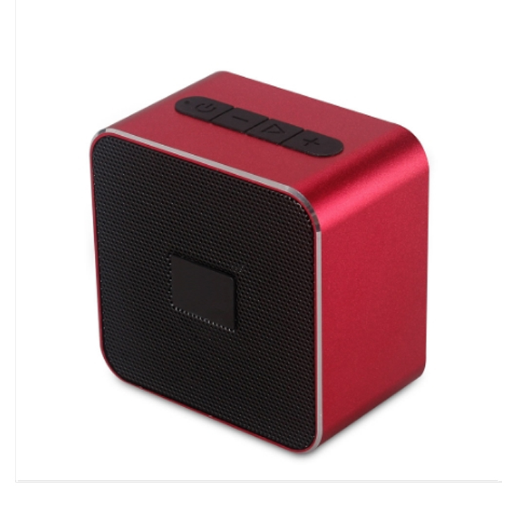 Alluminum alloy housing small and portable bluetooth speaker