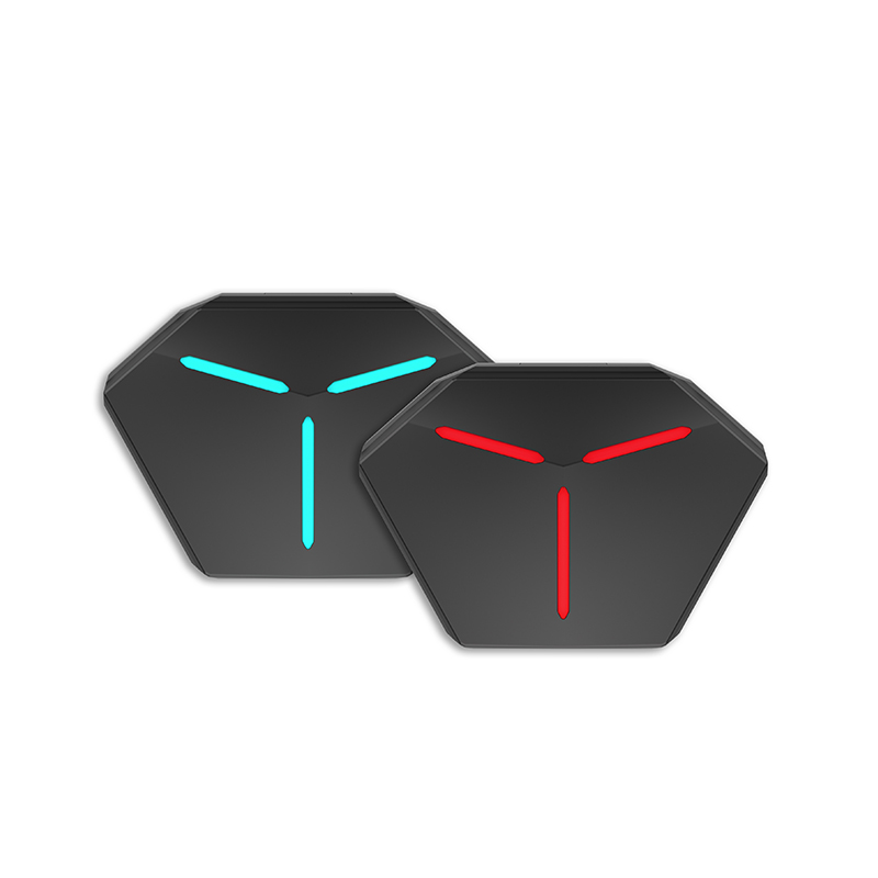C-TWS058 TWS earbuds Gaming design with Breathing Lights