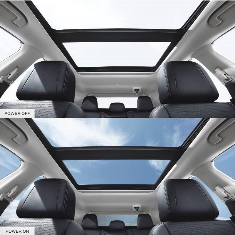 Smart car windows film