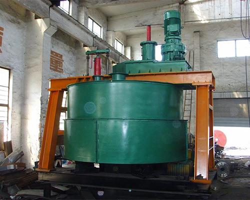 Pressure regulating lifting mixer
