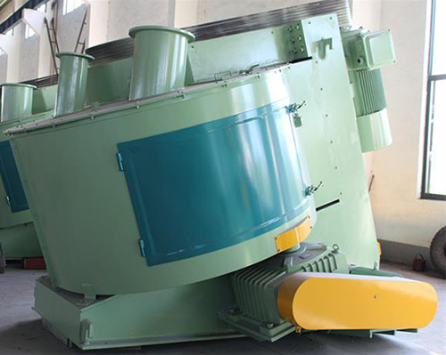 Inclined mixer