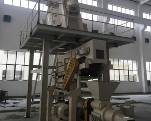 Plastic production line