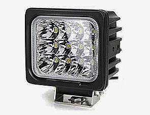 48W Square LED Work Light For Heavy Duty