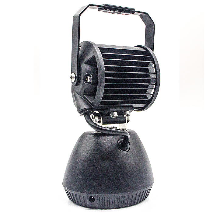18W Rechargeable LED Work Light With Amber Warning