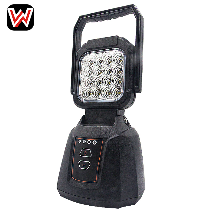 16W Rechargeable LED Work Light With 5 strong magnet
