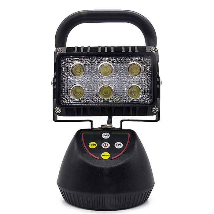 18W Rechargeable LED Work Light Exclusive mold