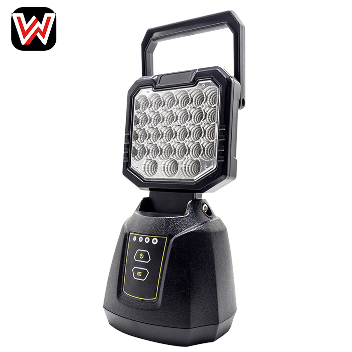 27W Rechargeable LED Work Light with USB Charger