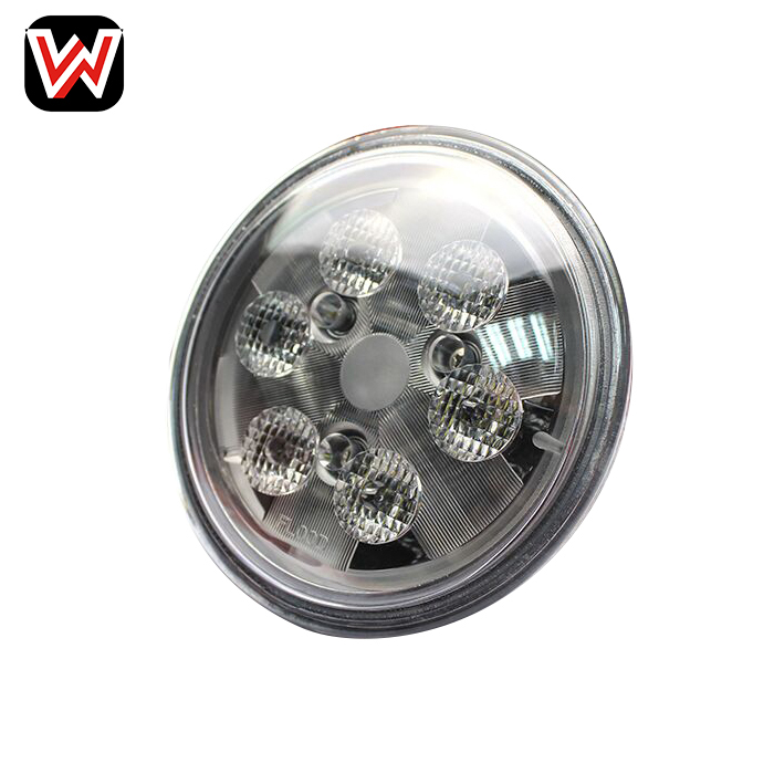Agricultural machinery accessories 18W LED work tractor light for JD and tractor