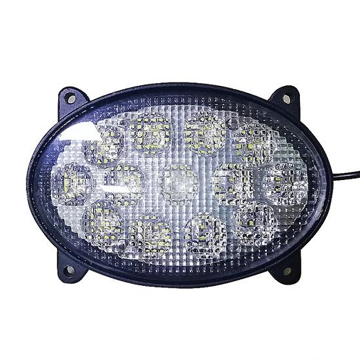 39W Oval Roof Trailer Agriculture Tractor Working Light Led for Excavator Boat Truck Farm Machine