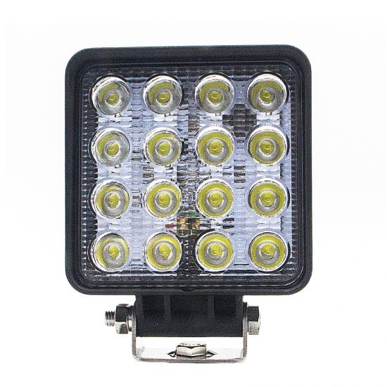 48W square 3600lms high power flood led work lamp for trucks/ATV/UTV/offroad