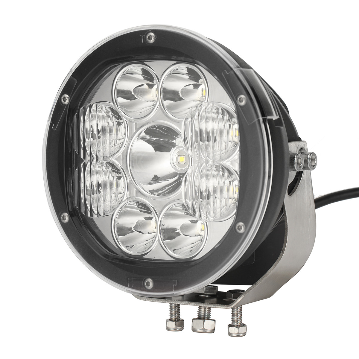 High power automotive led work lamps in car spare parts for led car roof light
