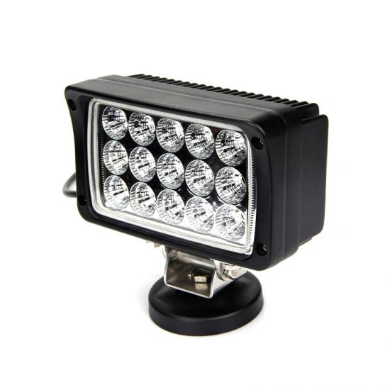 45W waterproof luces led automotrices offroad work light truck lamp
