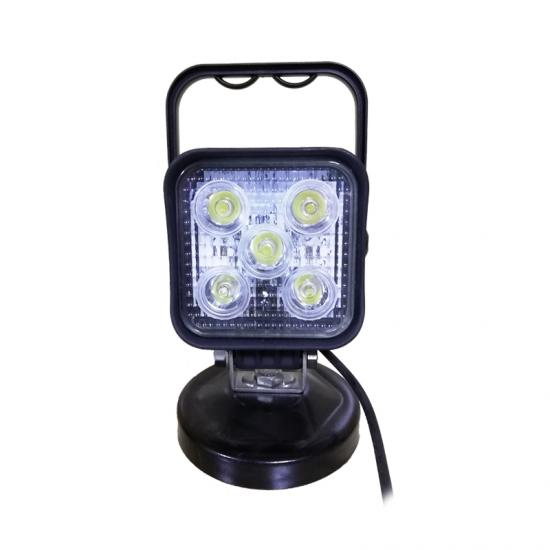 handle 15W square flood led work lamp for trucks/ATV/UTV/offroad