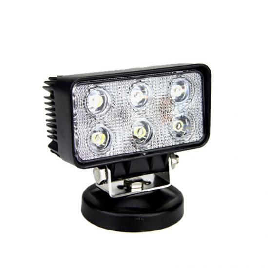 18w led driving work lamp square led working light