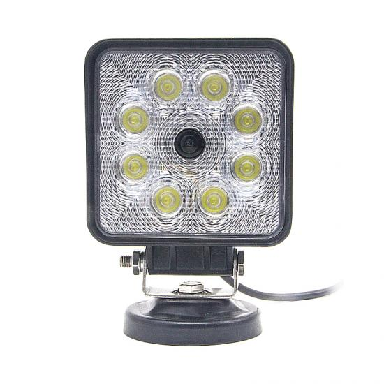 Work Light LED Rearview Camera Harvesters Tractor Forklift Use