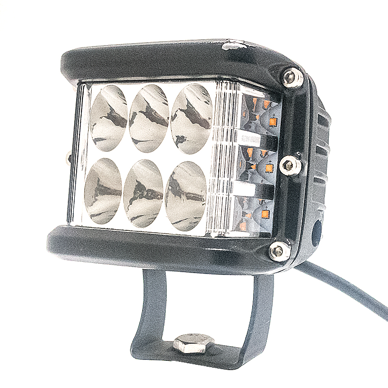 Left right side light led working light outdoor portable 30w led car motorcycles auto work light